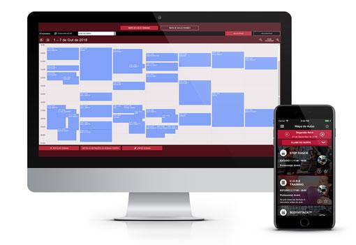 Reservas das Aulas de Grupo através da App